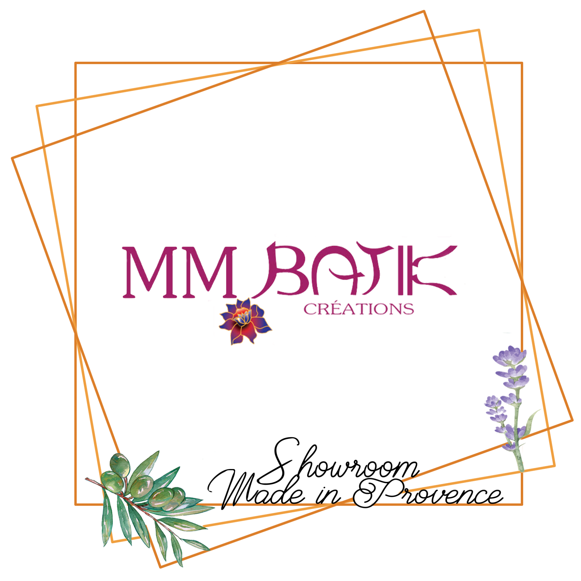 MM Batik créations showroom made in provence