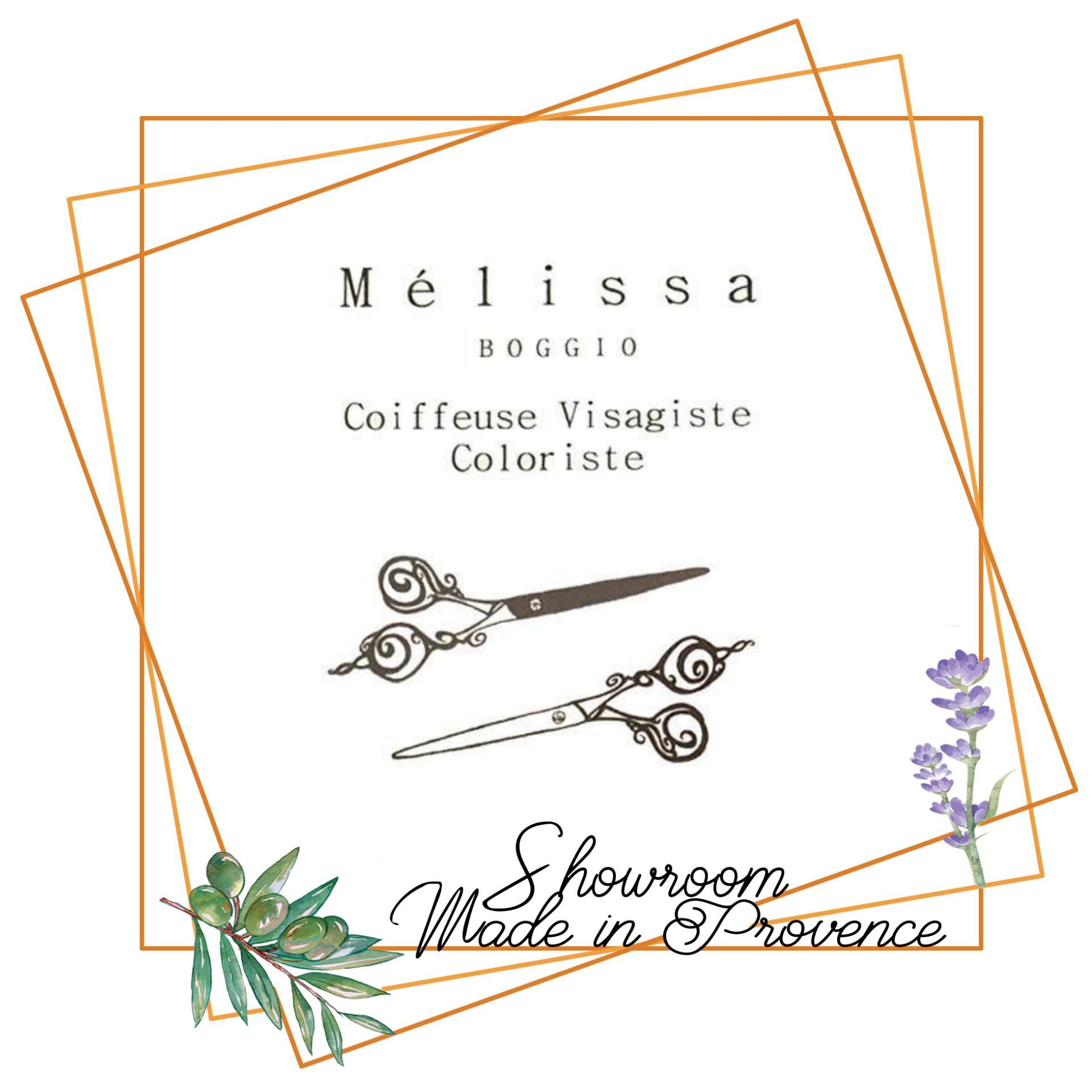 melissa boggio coiffeuse showroom made in provence